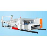 Learn More SYKM 950/SYKM4212 high speed flexo printing and slotting die cutting machine