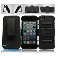 Wholesale Mobile Phone Combo Robot Case Belt Clip+Stand Holter Case for Apple iPhone 5 5G from china suppliers