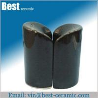Wholesale Ceramic salt&pepper shaker ceramic salt and pepper pots from china suppliers