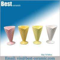 Wholesale Ceramic mug ceramic heart shape coffee mug from china suppliers