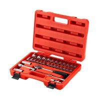 Wholesale new 32pcs 12.5MM Metric 6 -PT Socket Set from china suppliers
