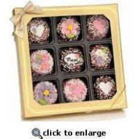 Wholesale Mother's Day Gifts - Chocolate Dipped Oreos Box of 9 from china suppliers