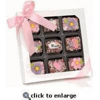 Wholesale Mother's Day Chocolate Dipped Krispies Gift Box of 9 from china suppliers