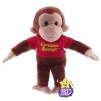 Wholesale Curious George Red Shirt Beanbag from china suppliers