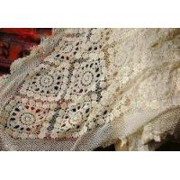 China Gorgeous Hand crochet/Bead Cotton Table cloth/Bedspread wholesale