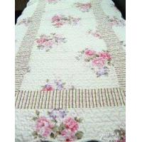 China Shabby and Vintage Style Vintage Quilted Floor Runner/rug wholesale