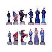 Wholesale Chess Pieces CHE037-pcs - Civil War Union Confederate Chess Pieces from china suppliers