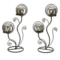 Pz2488ace Cz1c6f88e Frosted Twin Candle Holder likewise  on house warming gift ideas html