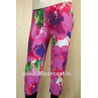 Wholesale 180 GRAM ELASTON SOFT,REACTIVE PRINTED 3/4 PANT WITH BODY FIT. from china suppliers