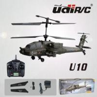 Wholesale U10 2.4G R&C Remote control ABS Green Helicopter Aero modeling from china suppliers