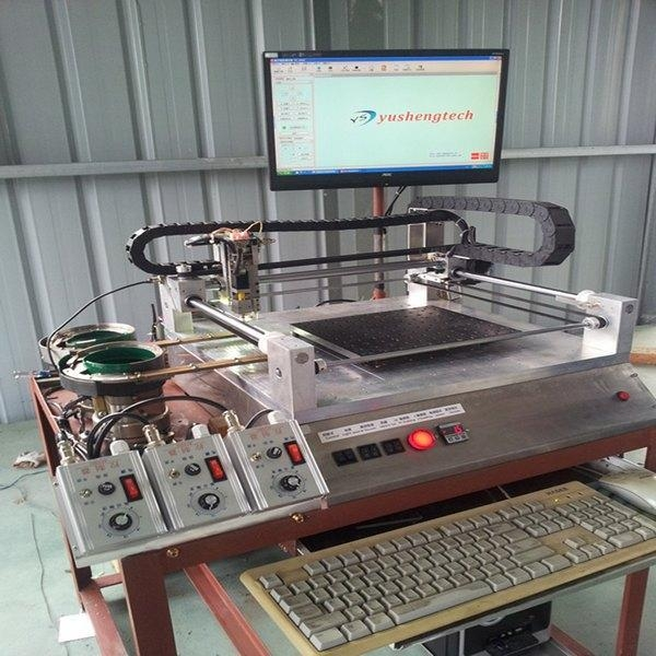 Quality Pick and place machine [14] Visual position placement machine for sale