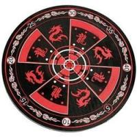 China Novelties ITEM: NOV-1002-A1 Target DRAGON TARGET BOARD RED BLACK 15 inches x 1 inches Class Sak-01 on sale