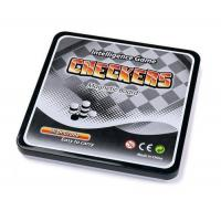 Wholesale Magnetic Games MAGNETIC CHECKER GAME W/SQUARE TIN BOX from china suppliers