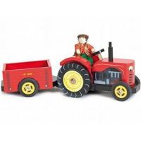 Wholesale Farms Le Toy Van Budkins Bertie's Tractor from china suppliers