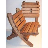 "Wholesale Wooden Collapsible Beach Chair -""Teddy Bear"" - Brown [W-2424] from china suppliers"
