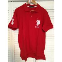 China US Polo Assn. Large Pony Polo Shirt - Red wholesale