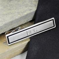 Wholesale Personalized Black Border Designer Tie Clip from china suppliers
