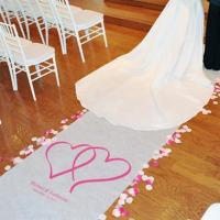 Wholesale Two Hearts Aisle Runner from china suppliers