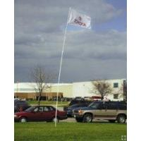 Wholesale Flag Poles Telescoping SuperFlex Pole15' White from china suppliers