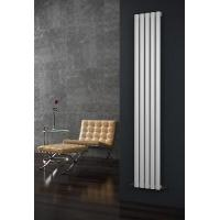 Wholesale Eclipse White Vertical 5 Tube Double Panel Designer Radiator 1800mm x 290mm from china suppliers