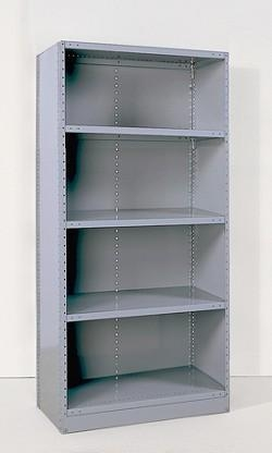 industrial clip closed shelving units of amhboston. Black Bedroom Furniture Sets. Home Design Ideas