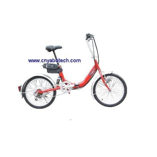 250w 24v foldable electric bicycle of cnyabotech