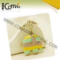 Wholesale Fancy keychains FK-0152 Elephant Colorfills Metal 3D shape Fancy Keyholders from china suppliers