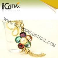 Wholesale Fancy keychains FK-0155 Flower Shape Diamond Fashion Keyholders from china suppliers