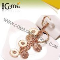 Wholesale Fancy keychains FK-0154 Traditional Coin Metal Fashion Fancy Keyrings from china suppliers