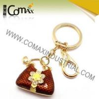 Wholesale Fancy keychains FK-0150 Handbag Quality Colorfill Metal Fancy Keychains from china suppliers