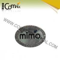 Wholesale Accessories for handbag and garment CMX-PU-047 Metal Fashion logo accessories for bag from china suppliers