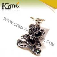 Wholesale Fancy keychains FK-0156 Teddy Bear Black Color Fancy Keyholders from china suppliers