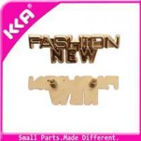 Wholesale Fashion zinc alloy label/metal label for clothing from china suppliers
