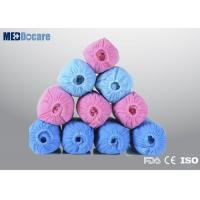 Covers for shoes to keep floors clean SPP nonwoven pink light blue color beauty salon supply