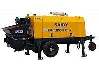 Buy cheap HBT Series diesel engine concrete pump from wholesalers