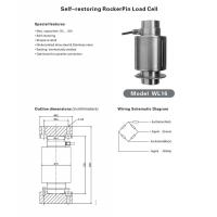 Wholesale Self-restoring RockerPin Load Cell from china suppliers