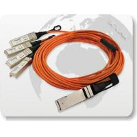 Wholesale 40G QSFP to 4x10G SFP+ Parallel Fan-Out Fiber Cable from china suppliers