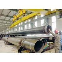 SSAW Welded ASTMA53/Q235 black spiral steel pipe/tube