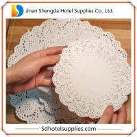 Wholesale Rectangular Apple Decorative Pattern Paper Doilies from china suppliers