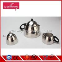 Wholesale insulated material Coffee Pot authentic cappuccino maker 3 set from china suppliers