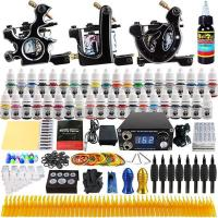 Wholesale 3 Guns 40 Colors Beginner Tattoo Kit from china suppliers