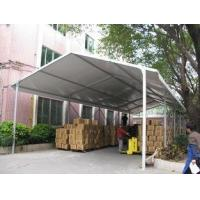 White PVC Fabric Roof Industrial Storage Tents Customized ISO CE Certification