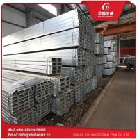 China Hot Dip Galv Square Pipe on sale