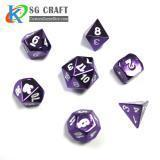 Buy cheap Purple Metal dice from wholesalers