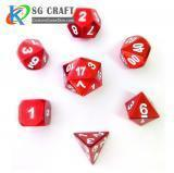Buy cheap Red Metal Dice from wholesalers