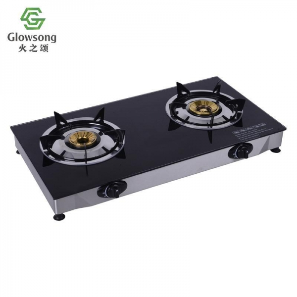 Quality Tempered Glass Panel Gas Stove SGB-03 for sale