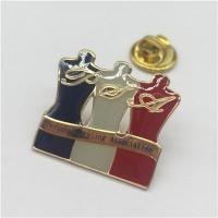 Wholesale Custom metal national flag pin badge from china suppliers