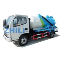 Buy cheap Dongfeng sewage waste water disposal tanker truck 4000L from wholesalers