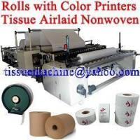 China High Speed Automatic Embossing Color Printing Jumbo Roll Tissue Slitting Rewinding Machine on sale
