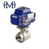 Buy cheap 2-Piece Threaded stainless steel Automated Ball Valve from wholesalers